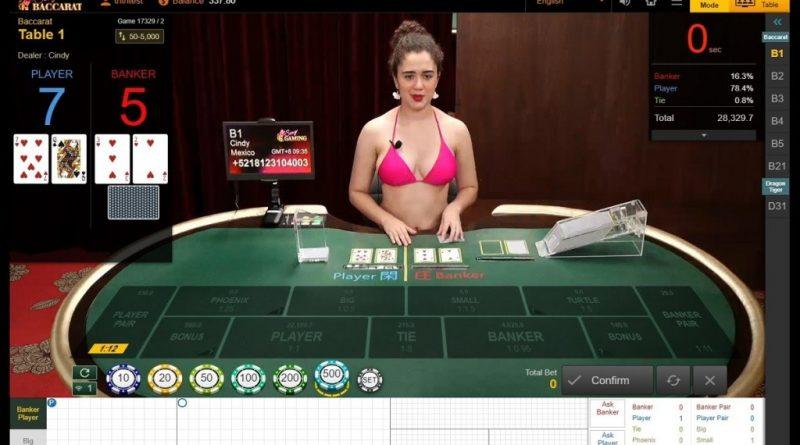 Sexy Baccarat online เล่นให้ชนะ ด้วยเคล็ดลับจากเซียนพนัน