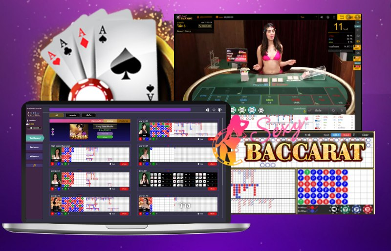 สูตรบาคาร่า Sexy Gaming แทงเซ็กซี่บาคาร่าในUFABET